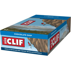 CLIF Bar Energybar Box Chocolate Chip 12 x 68g